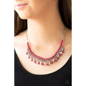 Future Fashionista Pink Pearl Wire Necklace Set